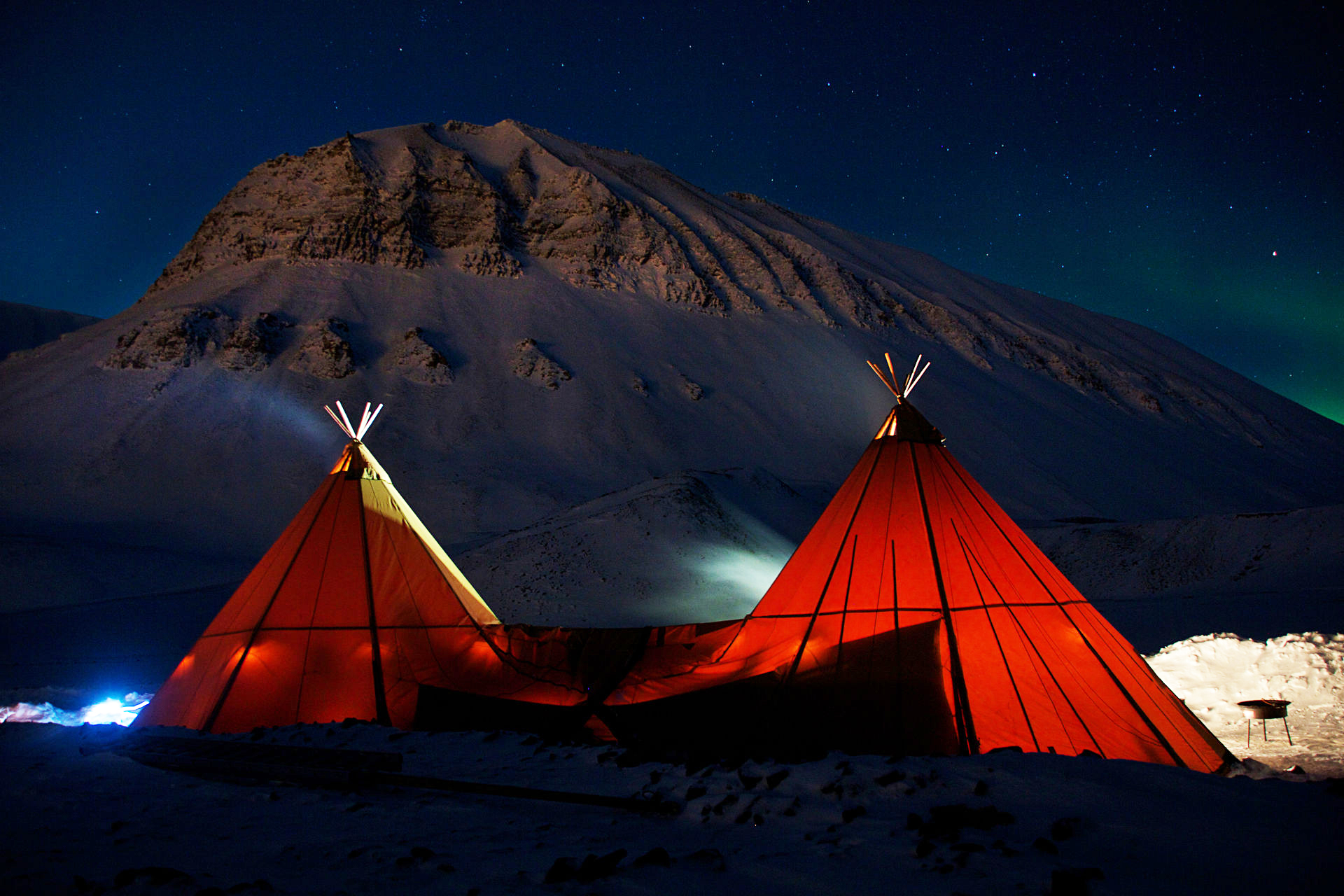 Isole Svalbard - Northern Lights Camp